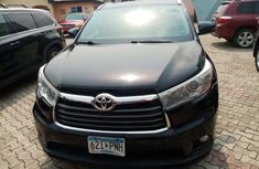 Foreign Used Toyota Highlander 2015 Model Black for Sale