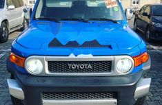 Foreign Used Toyota FJ CRUISER 2007 Model Blue