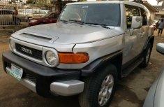 Nigeria Used Toyota FJ CRUISER 2007 Model Silver