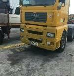Foreign Used Man TGA 2012 Model Yellow