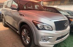 Foreign Used Infiniti QX80 2018 Model Silver