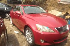 Foreign Used Lexus IS 2006 Model Red