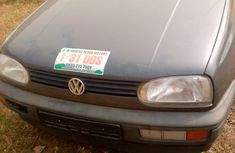 Nigeria Used Volkswagen Gold 3 1996 Model Gray