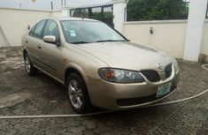 Foreign Used Nissan Almera 2005 Model Gold for Sale