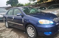 Foreign Used Toyota Corolla 2008 Model Blue