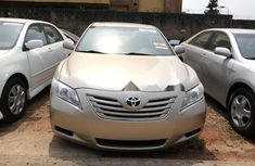 Foreign Used Toyota Camry 2007 Model Gold