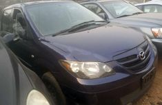 Foreign Used Mazda MPV 2006 Model Blue