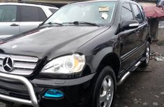 Foreign Used Mercedes-Benz M-Class 2003 Model Black