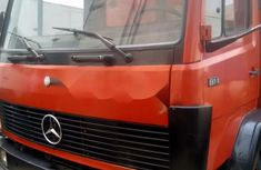 Foreign Used Mercedes-Benz 814 1994 Model Orange