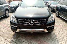 Foreign Used Mercedes Benz ML350 2013 Model Black for Sale
