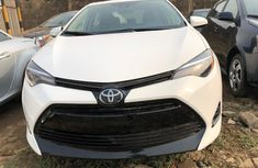 Foreign Used Toyota Corolla 2018 Model White