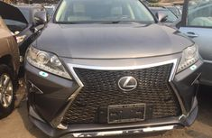 Foreign Used Lexus RX 350 2011 Model Gray