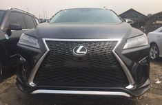 Foreign Used Lexus RX 350 2017 Model Black