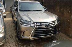 Foreign Used Lexus 570 2016 Model Gold