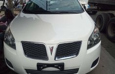 Foreign Used Pontiac Vibe 2009 Model White