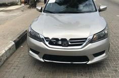 Foreign Used Honda Accord 2015 Model Silver