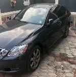 Nigeria Used Lexus GS 2008 Model Black