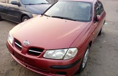 Foreign Used Nissan Almera 2003 Model Red