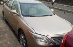 Nigerian Used Toyota Camry 2008 Model Gold for Sale