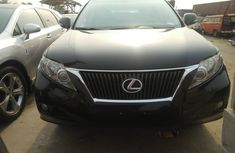 Foreign Used Lexus RX350 2010 Model Black for Sale