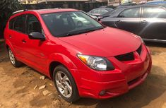 Foreign Used Pontiac Vibe 2004 Model Red for Sale