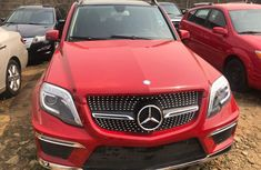 Foreign Used Mercedes Benz GLK350 2011 Model Red