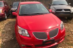 Foreign Used Pontiac Vibe 2006 Model Red for Sale