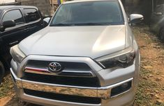 Foreign Used Toyota 4-Runner 2012 Model Silver for Sale