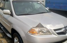 Foreign Used Acura MDX 2005 Model Silver