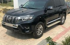Nigeria Used Toyota Land Cruiser Prado 2015 Model Black