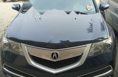 2010 Foreign used blue colored Acura MDX AWD full options