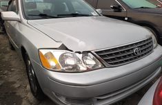 Foreign Used Toyota Avalon 2004 Model Silver
