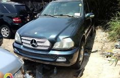 Foreign Used 2003 Dark Green Mercedes-Benz ML 320