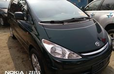 Foreign Used Toyota Previa 2007 Model Black