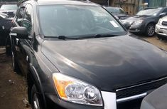 Foreign Used Toyota RAV4 2010 Model Black