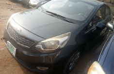 Nigeria Used Kia Rio 2013 Model Gray