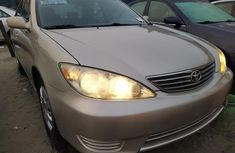 Tokunbo Toyota Camry 2005 Model Gold