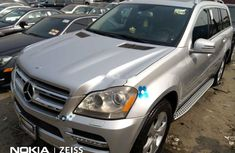 Tokunbo Mercedes-Benz GL-Class 2012 Model Silver