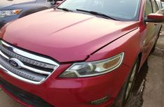 Foreign Used Ford Taurus 2010 Model Red