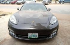 Nigeria Used Porsche Panamera 2010 model Brown