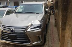 Foreign Used Lexus LX 2016 Model Silver