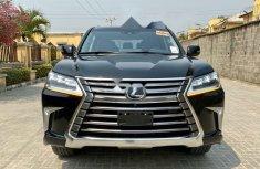 Foreign Used Lexus LX 2016 Model Black