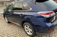 Foreign Used 2013 Blue Lexus RX for sale