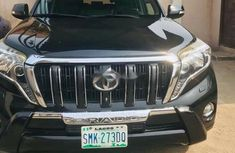 Nigeria Used Toyota Land Cruiser Prado 2014 Model Black