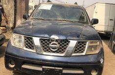 Nigeria Used Nissan Pathfinder 2005 Model Blue
