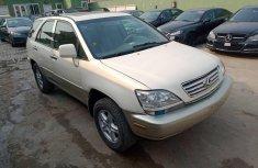 Nigeria Used Lexus RX 2001 Model White