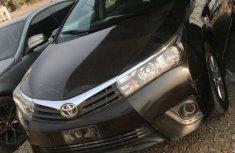 Nigeria Used Toyota Corolla 2014 Model Black