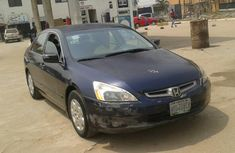 Nigeria Used Honda Accord 2004 Model Blue for Sale