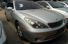 Foreign Used Lexus ES330 2005 Model Silver for Sale