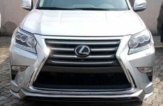 Foreign Used Lexus GX 2017 Model Silver